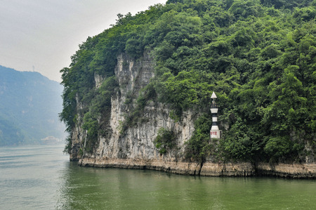 conservacion del agua: three gorges of the Yangtze river in China