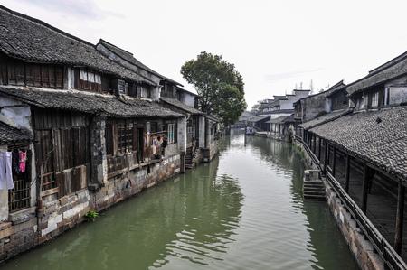 wuzhen scenery of tongxiang city, jiaxing city, zhejiang province, China Stock Photo