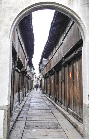 In 10 years, wuzhen scenery of tongxiang city, jiaxing city, zhejiang province, China