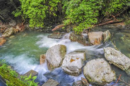 Jinggangshan stream water