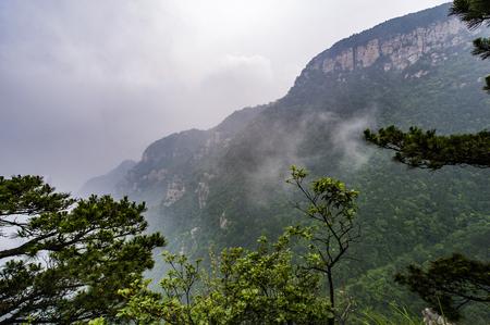 Lushan mountain scenery