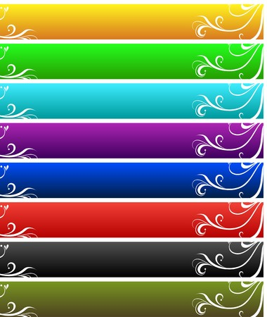 color banner set Stock Vector - 7582287