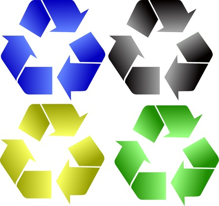 recycling icon Stock Vector - 7588728
