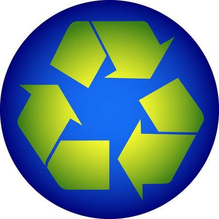 recycling symbol Stock Vector - 7582174