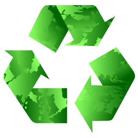 recycling green Stock Vector - 7582178