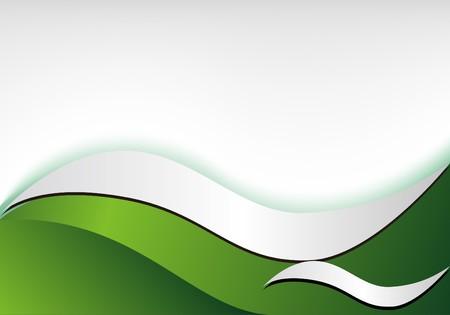 Gradient background design curve Stock Vector - 7612146