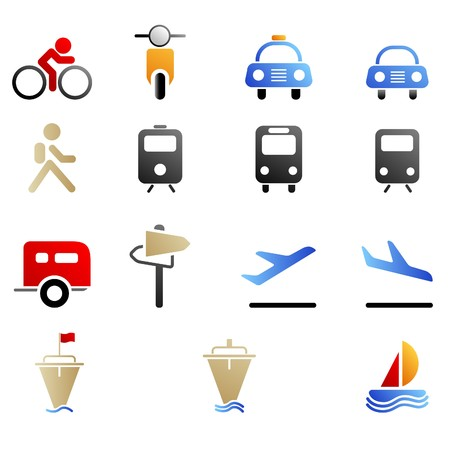 Media and Publishing icons Stock Vector - 7644368