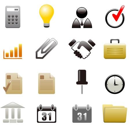 gradual: Iconos de negocio
