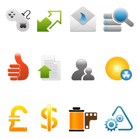 Internet icons Stock Vector - 7644370