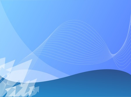 blue growth background Vector