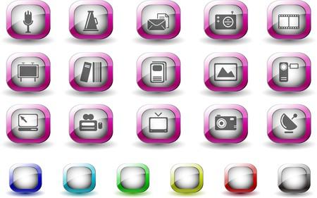 circularity: Media and Publishing icons TV Series