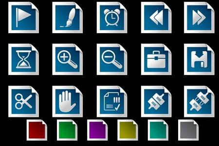 circularity: Toolbar and Interface icons Photo frame series