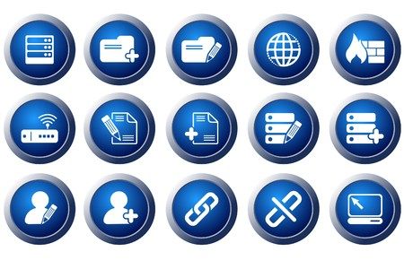 circularity: Database and Network icons