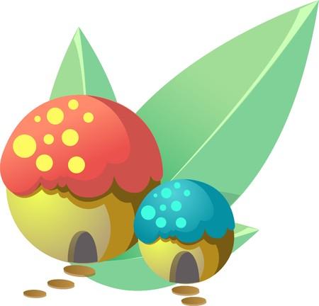 inedible:  Mushroom house