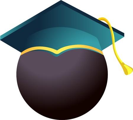 Academic cap   Stock Vector - 7612469