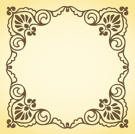 placard: decorative frame