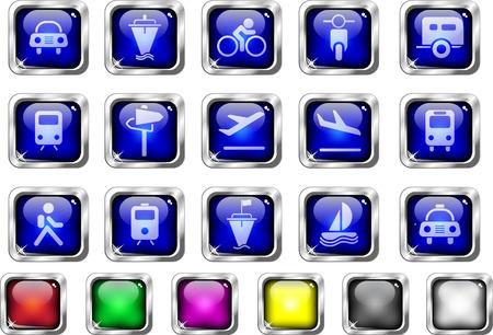 land vehicle: Transportation and Vehicle icons