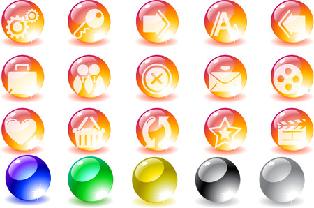 website and internet icons Stock Vector - 7930680