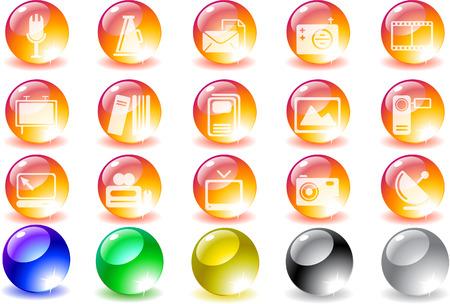 publishing: Media and Publishing icons