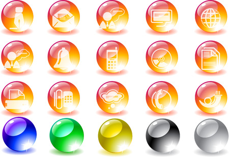 Communication icons Stock Vector - 7930690