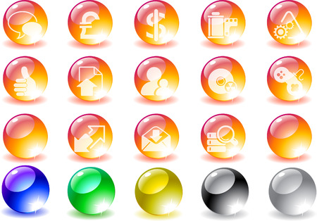 Internet icons Stock Vector - 7930676