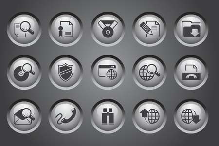 certificate icon: Internet icons
