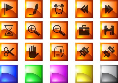 toolbar: Icone sulla barra degli strumenti e interfaccia