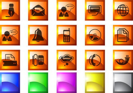 Communication icons Stock Vector - 7930858