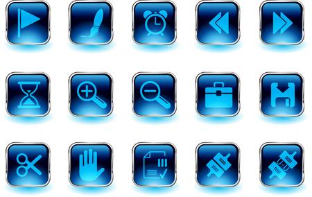 circularity: Toolbar and Interface icons   Illustration