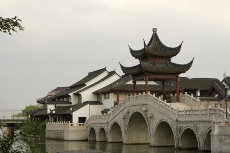 Chinese Classical Architecture,in Suzhou, China Stock Photo