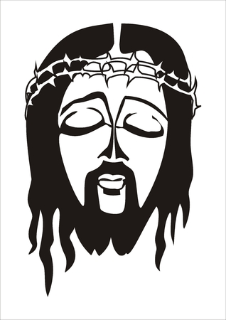 Face of Jesus Christ Stock Vector - 6262846
