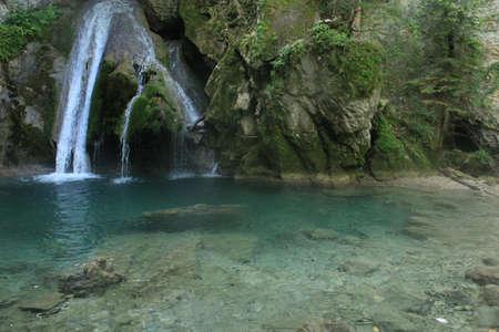Waterfall of Belabarze (Navarra, Spain) / waterfall of belabarze (Navarra, Spain)