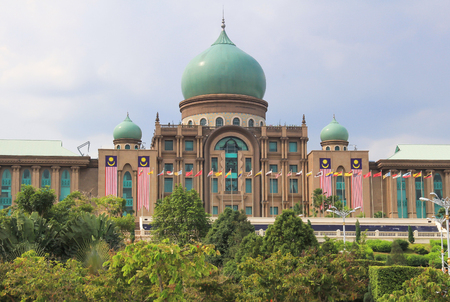 New Malaysian Prime Minister Office, Putrajaya, Malaysia. Its beautiful place and the big. It one of attractive for tourism.