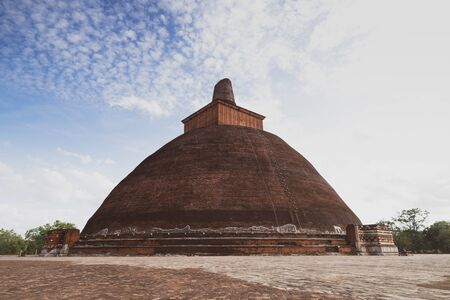 Jetavana Dagoba is one of the central landmarks in the sacred  city of Anuradhapura, Sri Lanka, Asia. It�s structure of 12th century, Sri Lanka.