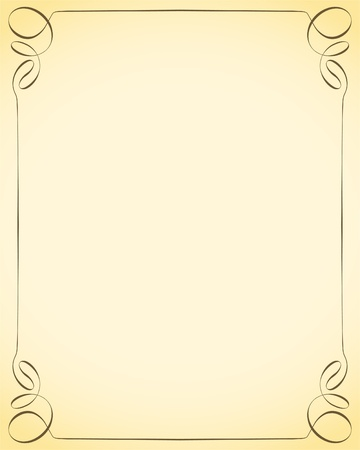 free border: decorative frame