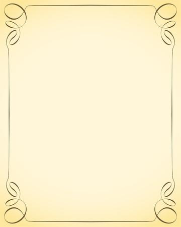 free place: decorative frame