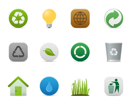 smooth series > recyclingenvironmental icons