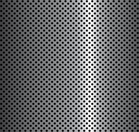 metalic: metal background