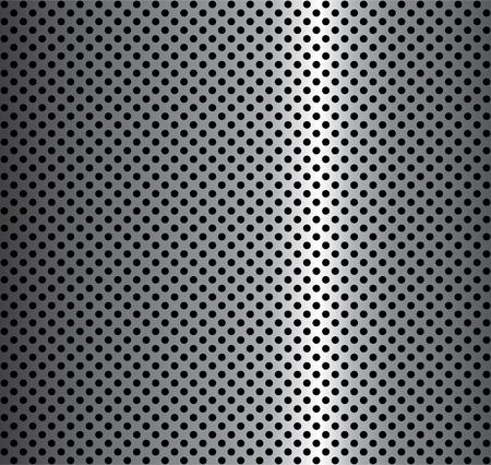 dauerhaft: Metall-Hintergrund Illustration