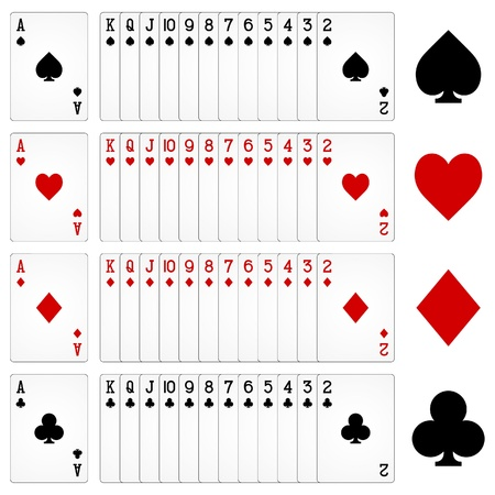 ace of clubs: playing cards