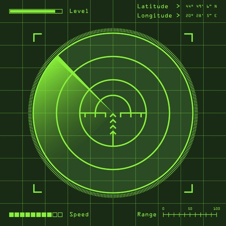 misil: radar