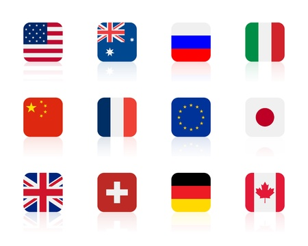 worlds flags 1 | square
