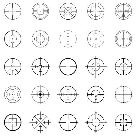 bullseye: Fadenkreuz
