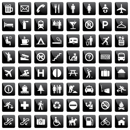 ensemble de pictogramme