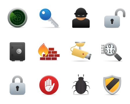 bug key: smooth series > security icons Illustration