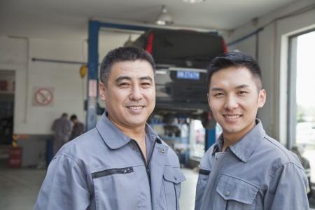 expertise: Portrait of Two Garage Mechanics