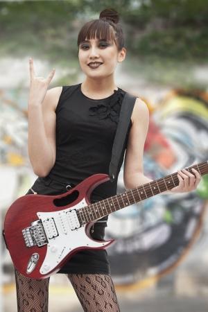Young Punk Rock Girl photo