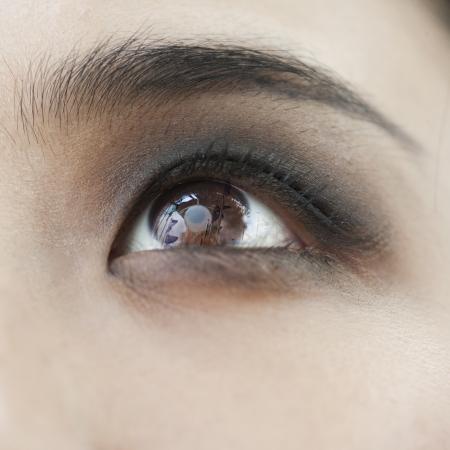 counterculture: Smoky Eye Close-Up
