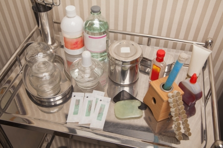 medical equipment: Tray of Medical Equipment