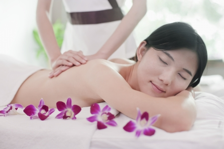 Women Receiving Massage photo
